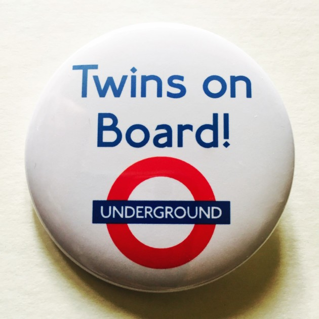 TfL baby on board badge